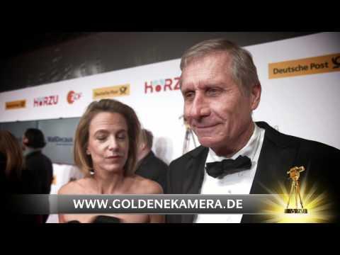 Ulrich Wickert und Ehefrau Julia Jäkel im Interview - GOLDENE KAMERA 2013