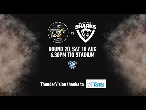 2018 NEAFL Round 20 - NT Thunder vs Southport Sharks