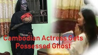 Cambodian Actress Gets Possęssed By A Ghost While Shooting A Horror Film