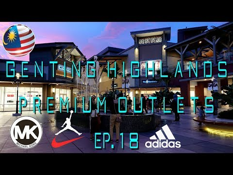 Great Shopping in Malaysia : Genting Highlands Premium Outlets