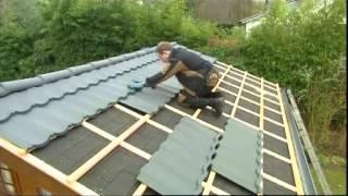 Rénover la couverture avec tuiles d'acier