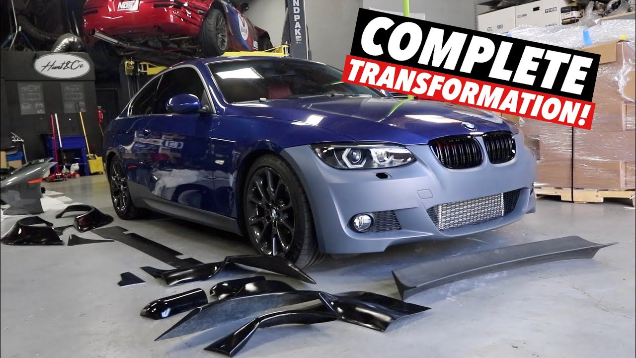 Turning a $5000 BMW 335i into a $50,000 BMW! [Part 3]