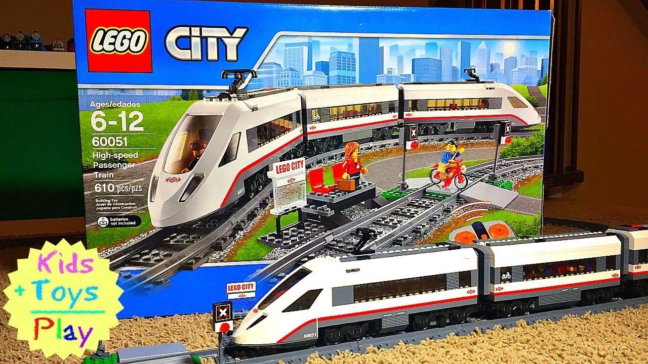 Crashes Lego BuildSpeed High Train Building 60051 City Fast b7gvmYIf6y