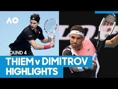 Dominic Thiem vs Grigor Dimitrov Match Highlights (4R) | Australian Open 2021