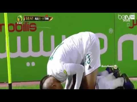 Algerie vs Tanzanie 7 0   تعليق حفيظ الدراجي