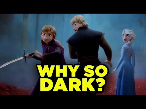 FROZEN 2 Trailer Breakdown! Disney Easter Eggs & Details You Missed!