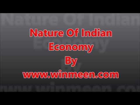 Nature Of Indian Economy