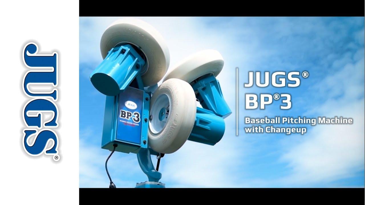 jugs bp3 baseball pitching machine with changeup jugs sports