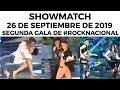 Showmatch - Programa 26/09/19 - Segunda gala de Rock Nacional