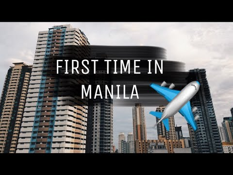 FIRST TIME IN MANILA (First Travel Vlog) | Markiey Lawrence