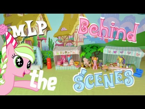 My Little Pony Behind the Scenes! MLP Fever Set Tour and Photography Slideshow