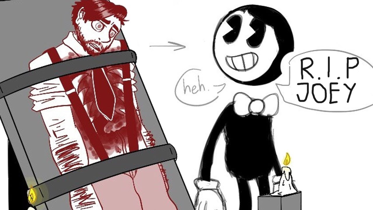 bendy and the ink machine joey