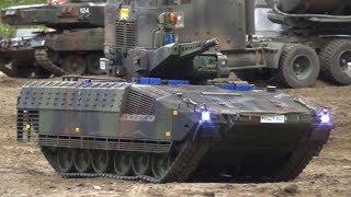 Battlefield RC Tank and Military Vehicles Friedrichshafen 2018 Fascination RC Model