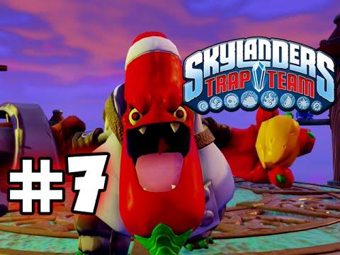 Skylanders trap team gameplay walkthrough part 7 pepper jack