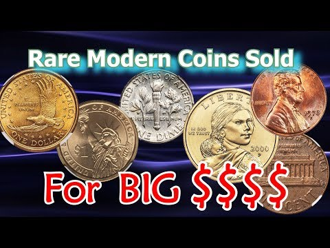 Rare Modern Coins Sold For Big Money At Coin Auction