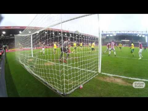 GoalCam: James Wilson's first Blades goal