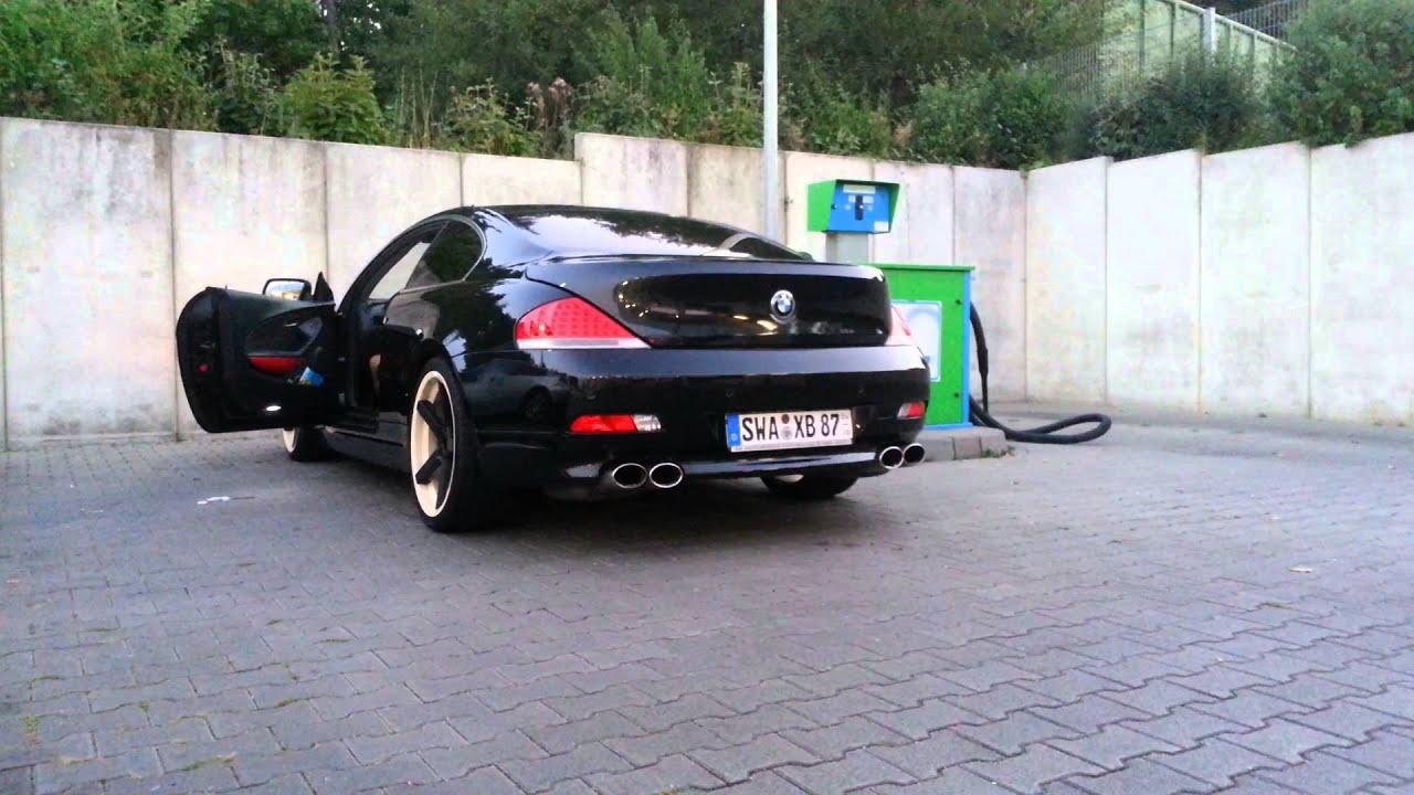 BMW E63 645ci Custom Exhaust