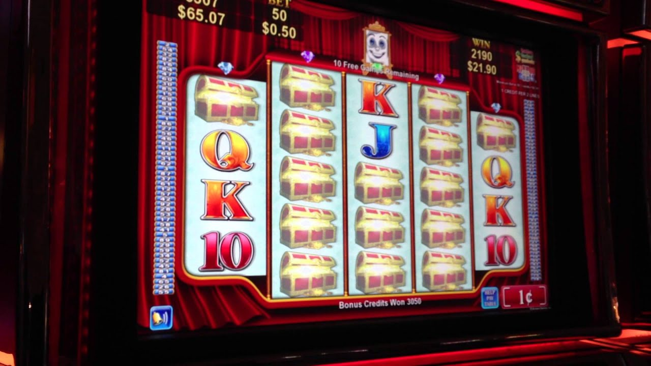 casino slot machine wins