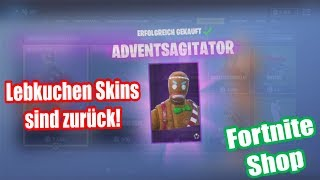 Omg! The Lebkucken Skins are back! | Fortnite Shop from 22.12.2018