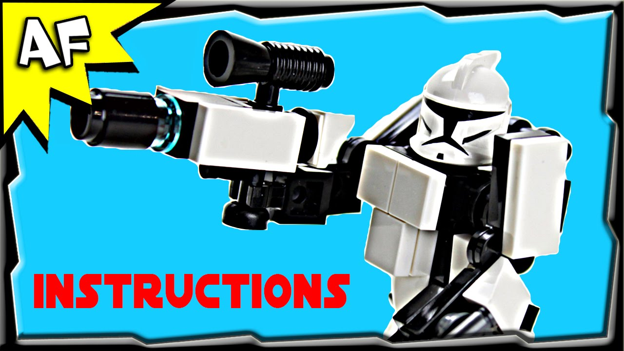 Star Wars Clone Trooper Hardsuit Armor Instructions From Custom Rc