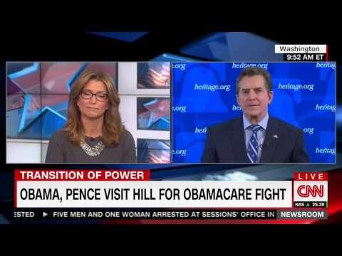 Jim DeMint on CNN's 'Newsroom' with Carol Costello on Obamacare