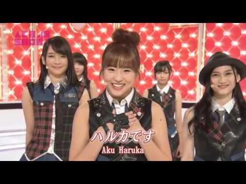 JKT48 - RIVER on Japan's tv