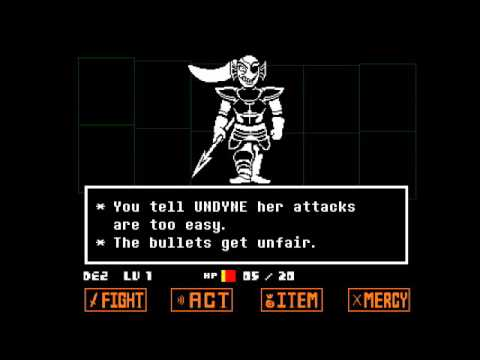 Continually Challenging Undyne - Undertale