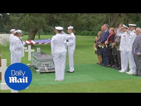 Twin brothers laid to rest together 74 years after WWII death