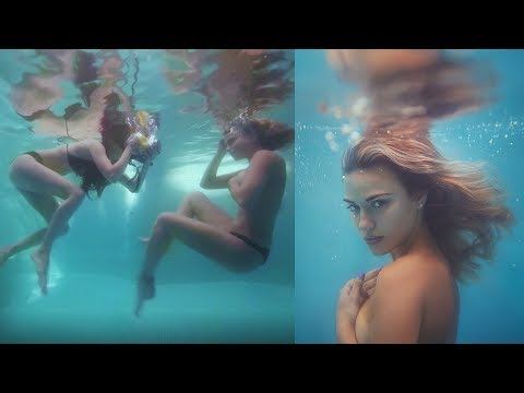 Shooting Underwater for the First Time, Behind The Scenes