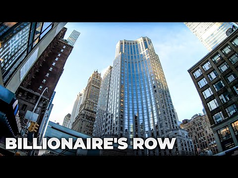 ⁴ᴷ⁶⁰ Walking NYC