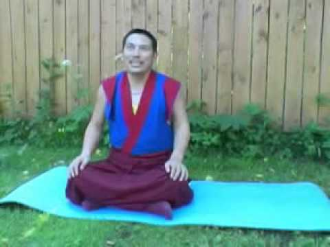 Trul-khor. Geshe Rinchen Tenzin. Public Teaching for russian.  1/2