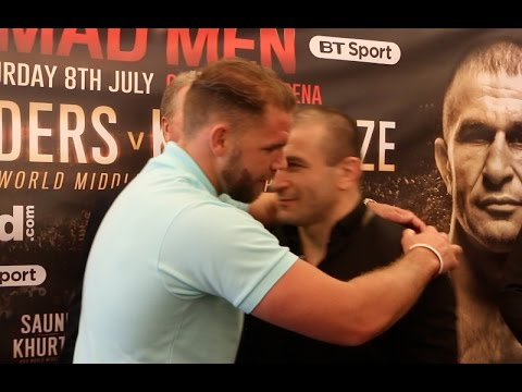 BIZZARRE! - BILLY JOE SAUNDERS BAFFLES AVTANDIL KHURTSIDZE IN HEAD TO HEAD!  / SAUNDERS v KHURTSIDZE
