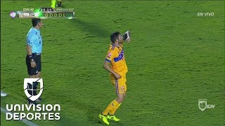 Gignac anota el gol de la honra para Tigres