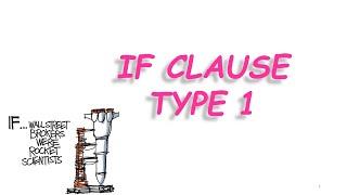 İngilizce Konu Anlatımı If Clause Type 1 Conditionals Ifclause Ingilizcekonuanlatımı
