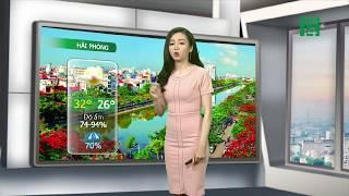 VTC14 | Thời tiết các thành phố lớn 18/06/2018 | Mưa giảm dần ở Hà Nội và Hải Phòng