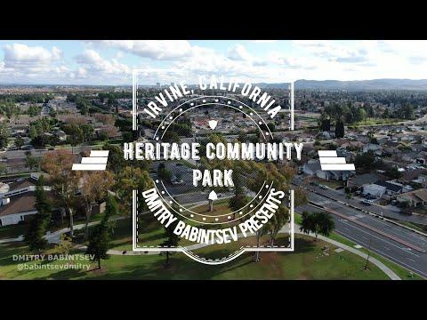 Heritage Community Park - Irvine - Orange County - California - USA