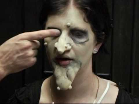 Anleitung Für Hexen Make Up Halloween Schminke Youtube