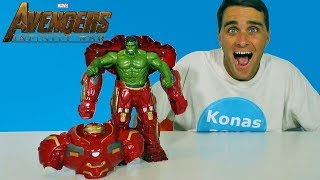 Avengers Infinity War Hulk Out Hulkbuster ! || Toy Review || Konas2002