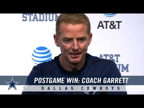Post Game Press Conference: Head Coach Jason Garrett on Cowboys Victory | Dallas Cowboys 2018