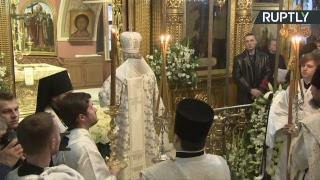 В Москве проходит отпевание Николая Караченцова