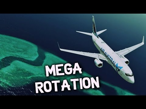 Flight Movie | MEGA ROTATION (REUNION - MAYOTTE - MORONI - REUNION) B738 AIR AUSTRAL