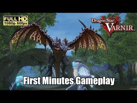 New Game : Dragon Star Varnir - First Minutes Gameplay [Full HD] [1080p 60fps] |