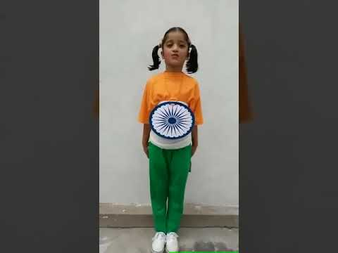8f4868c4d1 Fancy Dress Competition - National Flag - YouTube
