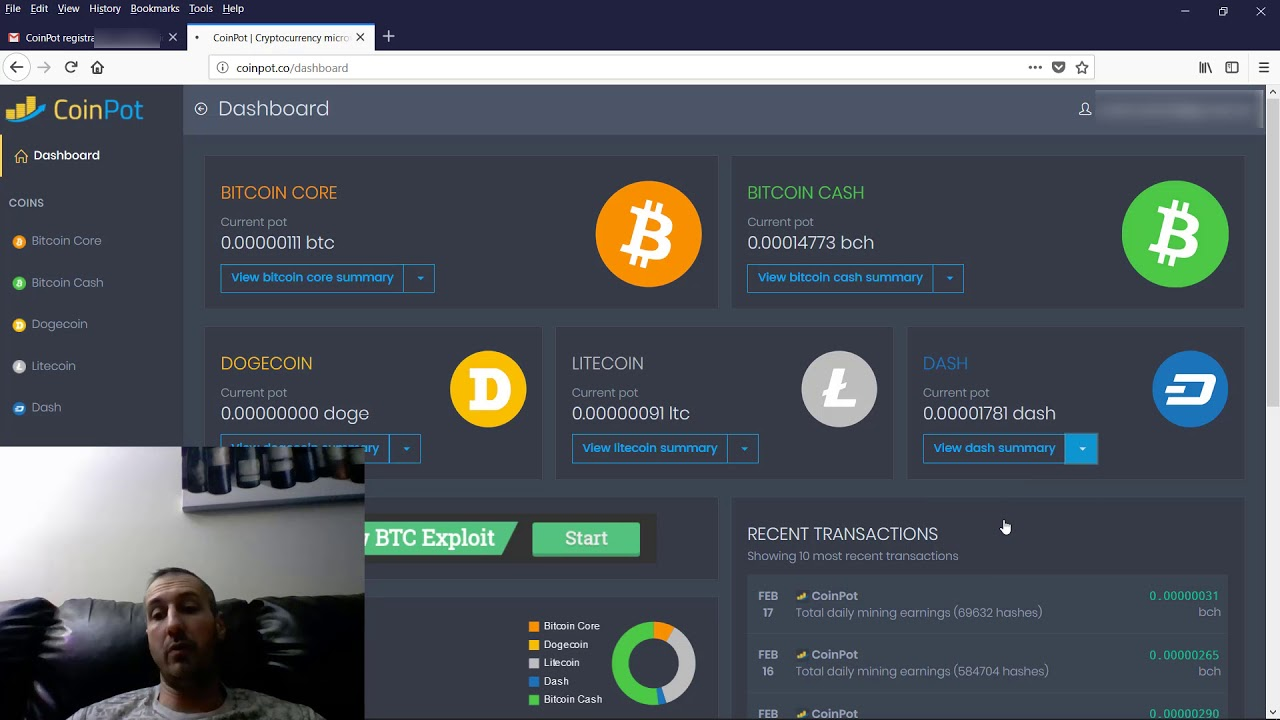 How To Mine Bitcoin Core On Coinpot How To Mine Bitcoin Fast