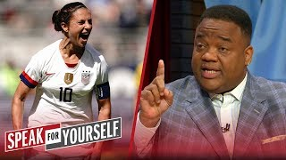 Carli Lloyd's NFL pursuit is good for the NFL - Jason Whitlock | SPEAK FOR YOURSELF