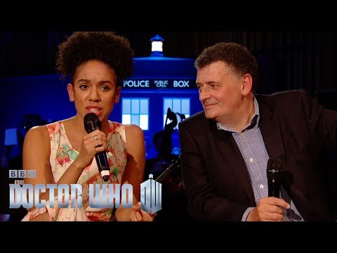 Full Q&A with Pearl Mackie and Steven Moffat  Doctor Who  BBC One