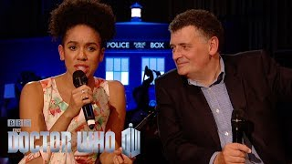 Q&A with Pearl Mackie and Steven Moffat - Doctor Who | BBC One