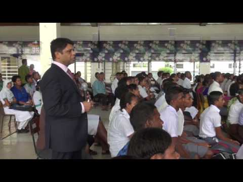 FIJIAN MINISTER FOR ECONOMY - BUDGET CONSULTATION WITH SECONDARY STUDENTS OF LABASA