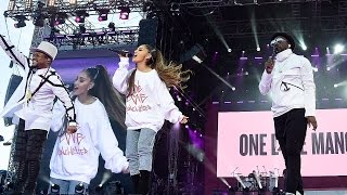 ariana grande raises 3m with one love manchester concert
