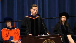 "Joseph R. ""Beau"" Biden III addresses the Class of 2011"